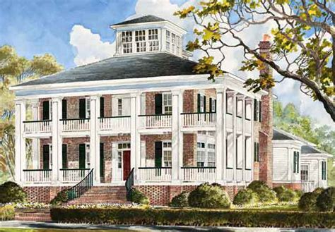 plantation home plans smythe park house mitchell ginn southern living house