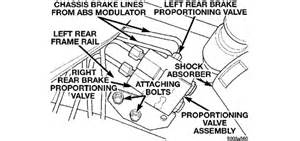 Brake Line Diagram For 2003 Chevy Avalanche 2003 Checy Avalanche Need Brake Line Routing From Master