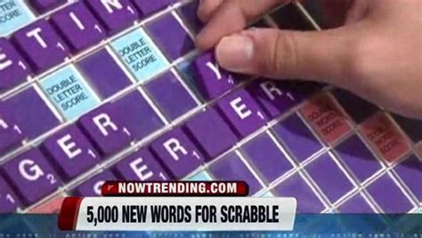 na dictionary scrabble scrabble adds 5 000 words do you what a quinzhee is