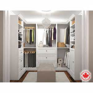 bestar organize it white u shape closet