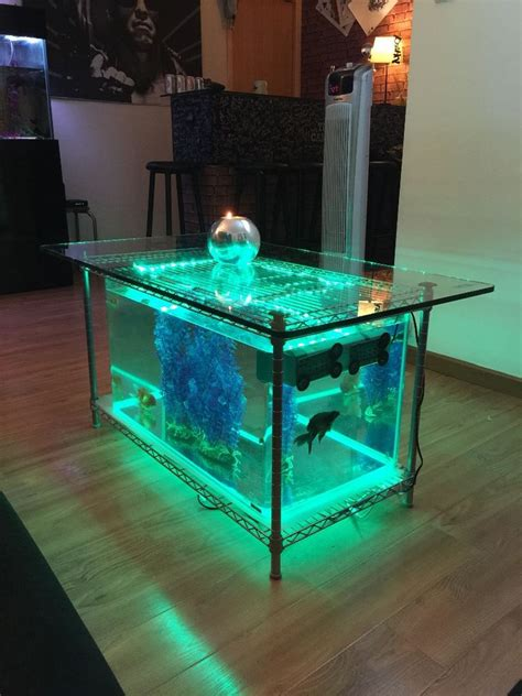 Table Aquarium Design by Une Table Basse Aquarium Ezooq