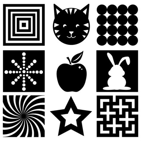 black and white pattern books for babies freebie 5 pages of black white vision development