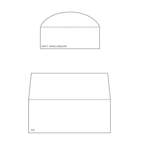 9 Envelope Liner Templates Download For Free Sle Templates A7 Envelope Template