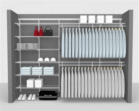 Superslide Shelving Reach In Wardrobe Up To 10 3 05m Wide