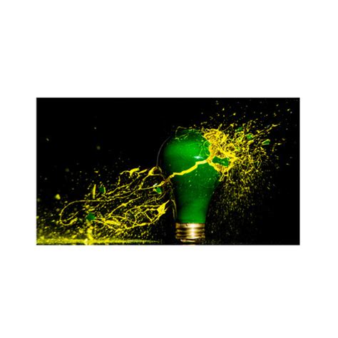 green paint sles paint bomb yellow green metal print 16 quot x 24