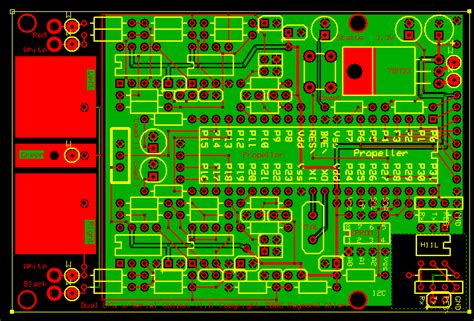 pcb layout design exles prop ekg