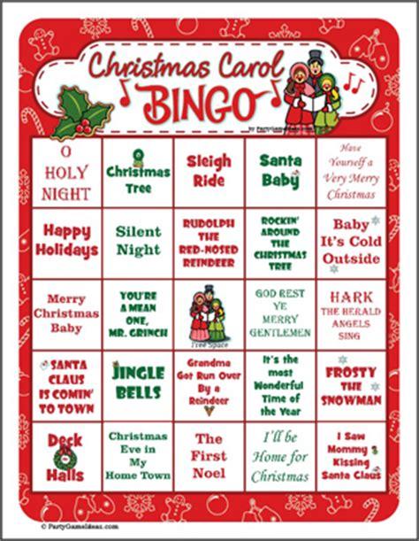 printable christmas bingo cards for adults christmas bingo printable christmas party game