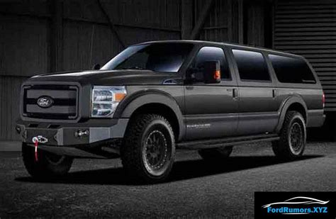 2019 Ford Excursion Diesel by 2019 Ford Excursion Interior Price Release Date 2019