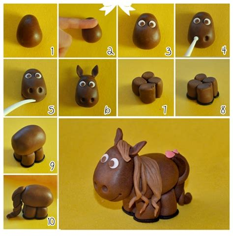 how to make animals out of pony tutorial cavallino cake