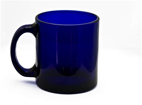 a cup free photo cup glass blue mug equipment free image