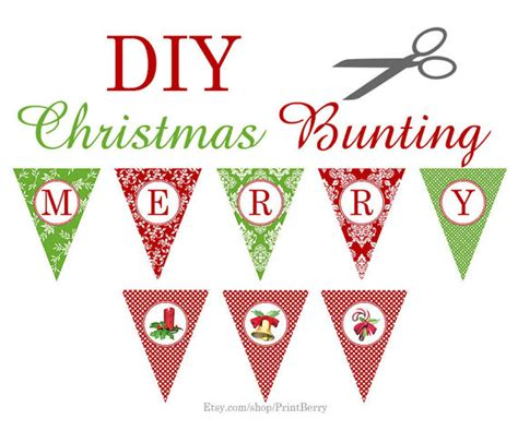5 best images of printable christmas lights banner