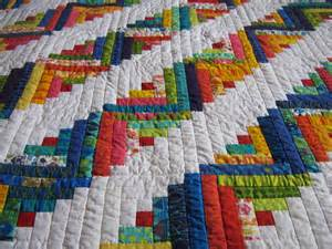 quilter s log cabin quilt