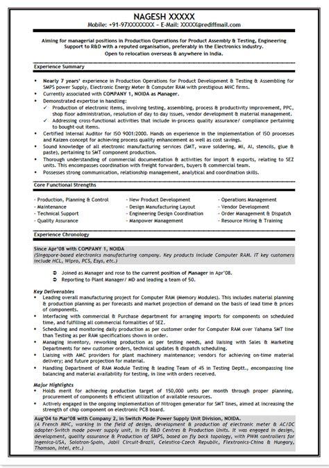 Resume Sample Naukri by 302 Found