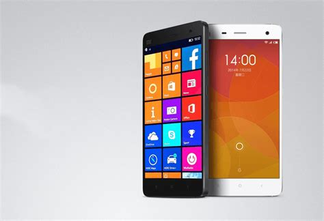 New Hp Xiaomi Mi4 One microsoft to bring windows 10 to your android phones