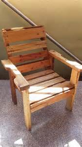 Natural Rocking Chair Diy Recycled Wooden Pallet Chair 99 Pallets