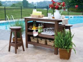 Garden Bar Table Amish Polywood Bars Dutchcrafters Outdoor Bars