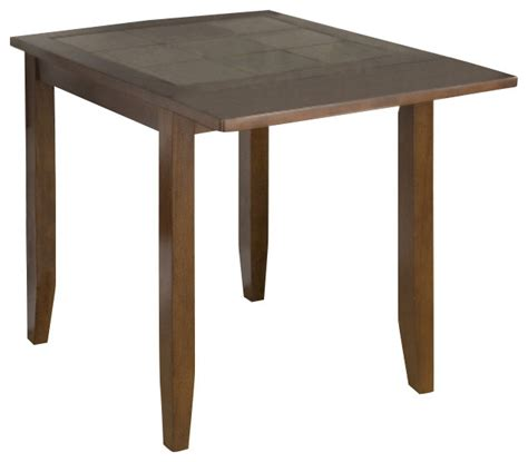 jofran caleb brown 30x30 dining table contemporary