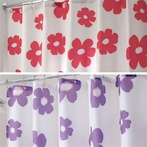 shower curtains with flowers flower shower curtain in shower curtains and rings