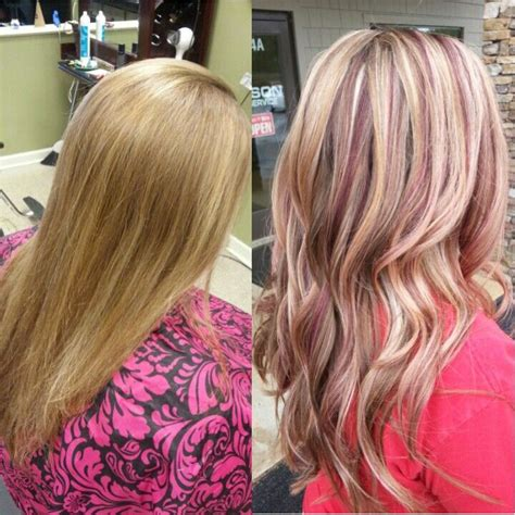 how to section hair for highlights and lowlights 1000 ideas about red violet highlights on pinterest