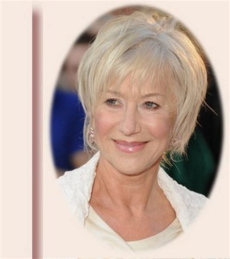 pictures of short hairstyles for 60 year old woman hairstyles for mature women over 60