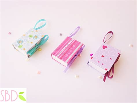 How To Make A With Notebook Paper - mini notebook portatili tutorial eng subs diy mini