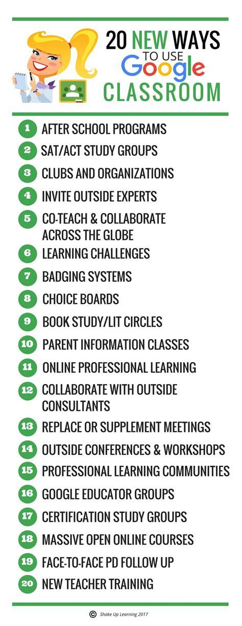google classroom ideas  pinterest google