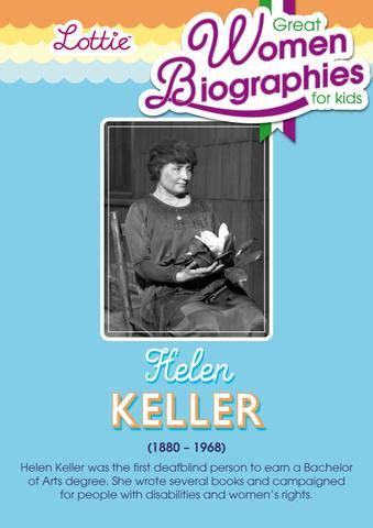 helen keller biography for students helen keller biography for kids lottie dolls