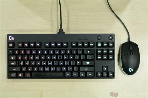 minimalist keyboard logitech g pro gaming keyboard mouse lightning review minimalist capable gear lowyat net