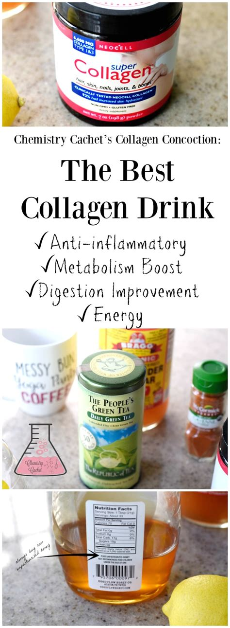 Collagen Tea chemistry cachet s collagen concotion the best collagen