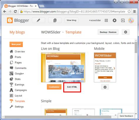 templates for blogger with slider comment ajouter wowslider 224 blogger