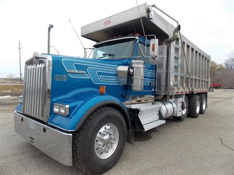 kenworth w900 a model for sale dump truck for sale in michigan