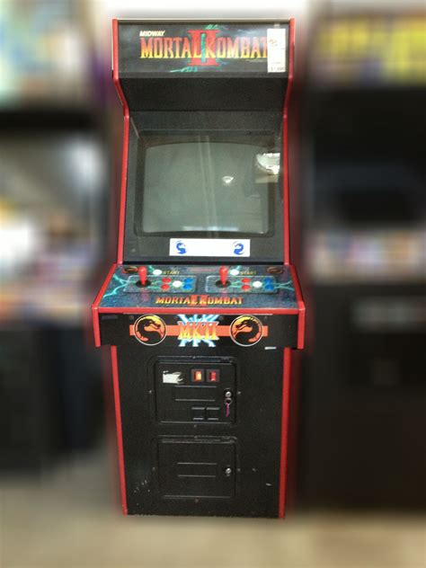 Mortal Kombat Cabinet by Mortal Kombat 2 Arcade For Sale Vintage Arcade
