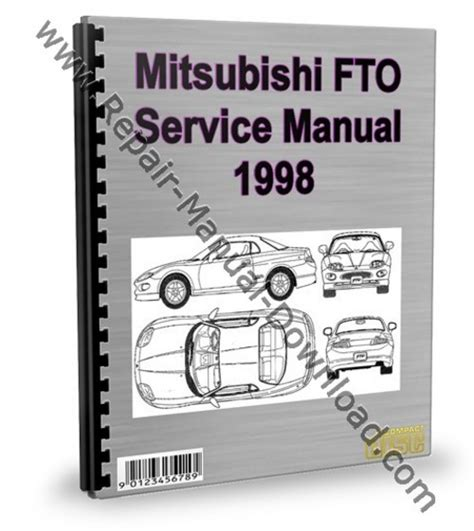 mitsubishi fto 1998 service repair manual
