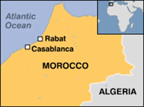 middle east map morocco news middle east new attacks hit morocco