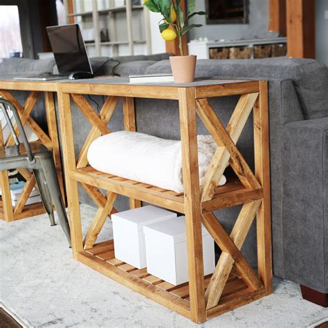 modern farmhouse console table inspired  pottery