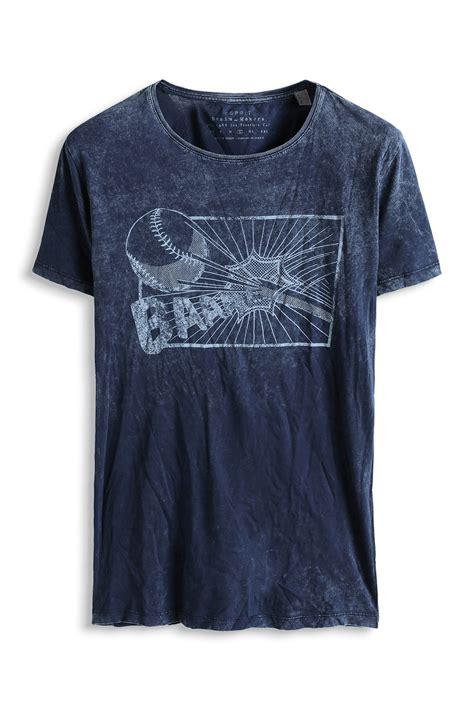 Esprit Vintage Jersey T Shirt Ink www davidemartini ink for esprit baumwoll jersey print t