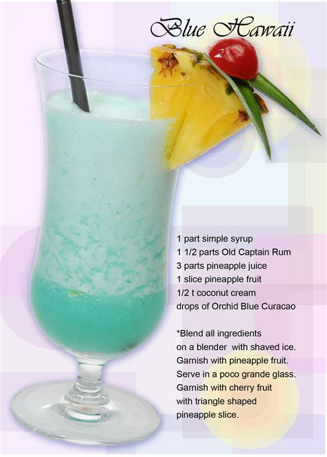 cocktail recipes coconut blue hawaiian recipe dishmaps