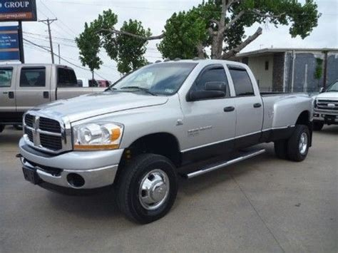 automobile air conditioning service 2006 dodge ram 3500 parking system find used 2006 dodge ram 3500 6spd manual quad cab 5 9 diesel 4x4 slt we finance dually in grand