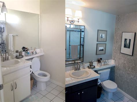 inexpensive bathroom makeovers before and after small bathroom makeovers before and after creative home