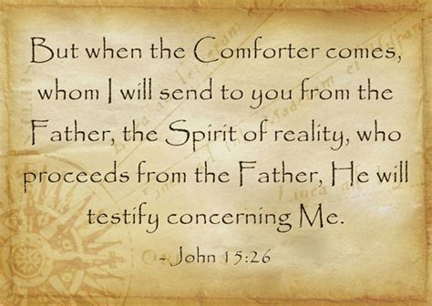 i will send the comforter the spirit guides us archives a god man in christ