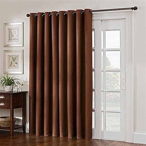 Width Of Curtains For Windows Buy Antique Satin 84 Inch Width Room Darkening Grommet Top Window Curtain Panel In Rust
