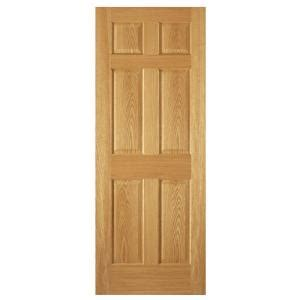 home depot 6 panel interior door steves sons 6 panel unfinished oak interior door