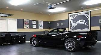 31 best garage lighting ideas indoor and outdoor see you car from