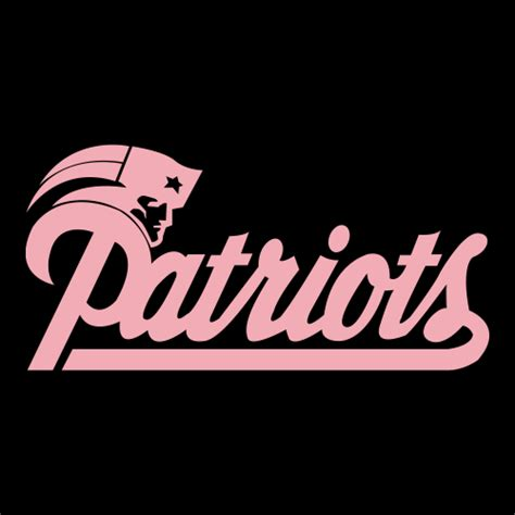 Kaos Sport Football New Patriots Alternate Logo 1 2000 2012 pink cad cut new patriots alternate logo 1993 1999