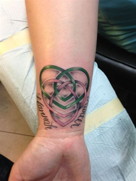 celtic mother tattoo celtic knot celtic motherhood knot with my