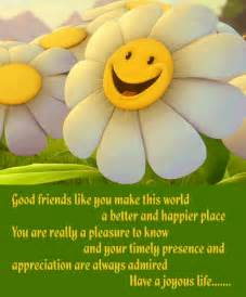 friendship greetings july 2011