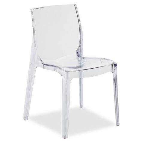 chaise transparentes chaise transparente design miss diamant pas cher chaises