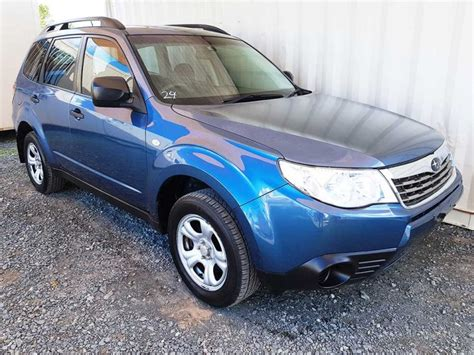 subaru forester x wagon 2008 blue for sale 7 750 used