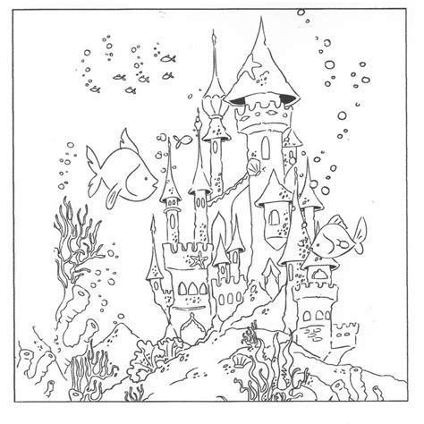 printable coloring pages underwater underwater coloring pages pinterest