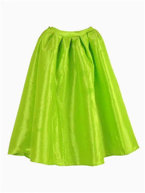 bright yellow midi skater skirt choies